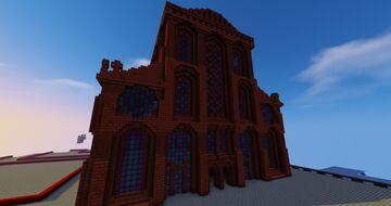 Church 2.0. Minecraft Map & Project