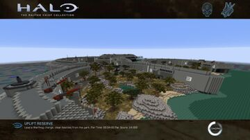 Halo 3 ODST Uplift Nature Reserve Minecraft Map & Project