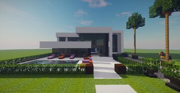 Modern House (December Projects #1) Minecraft Map & Project