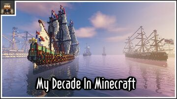 I made a compilation of most of my builds from the past decade on youtube can't believe how much progress I made Minecraft Map & Project