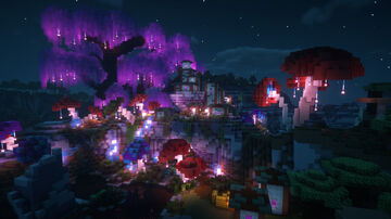 Mystical Mesa Village Transformation! Minecraft Map & Project