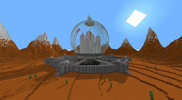 Doctor Who - Gallifrey Citadel Minecraft Map & Project