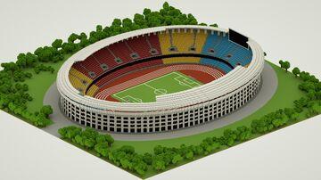 工人体育场 Beijing Workers' Stadium Minecraft Map & Project
