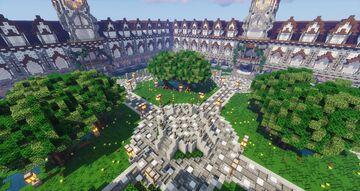 Clock Tower Hub Minecraft Map & Project