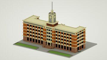 北京电报大楼 Beijing Telegram Building Minecraft Map & Project