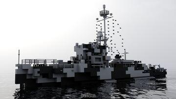 USS Hazard (AM-240) Minecraft Map & Project