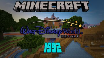 Walt Disney World - (1992) Minecraft Map & Project