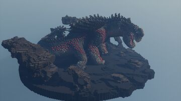 Red Death [ How to train your dragon ] Minecraft Map & Project