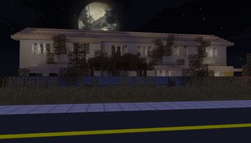 Russian town house Minecraft Map & Project