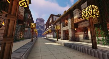 """Justopouli- """"City of a thousand domes"""" Minecraft Map & Project"""