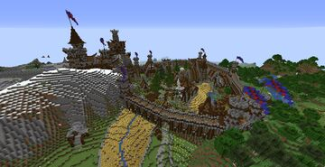 Kingdom of Arelly Teidrus Minecraft Map & Project