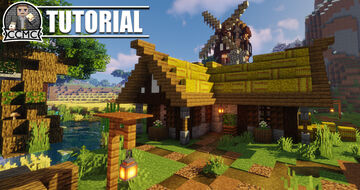 Medieval Rustic Farmhouse + Download Minecraft Map & Project