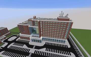 [Old] Hospital / Medical Center Minecraft Map & Project