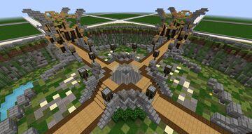 Small Plot World Spawn Basic / Grundgerüst Plot Spawn Minecraft Map & Project