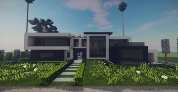Modern House (December Projects #2) Minecraft Map & Project