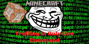 Only One Commands for 1.15 | Trolling & TimberMod Minecraft Map & Project