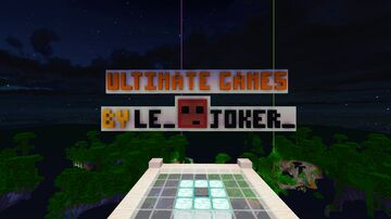 Ultimate Games | 11 Games solo or in multiplayer 1.14 | No Plugin needed Minecraft Map & Project