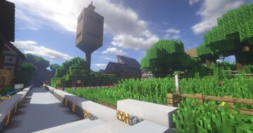 1.14.4 Town of Forest Hills - My Personal SMP Server World.  WORLD DOWNLOAD! Project Version 1.1.0 Minecraft Map & Project