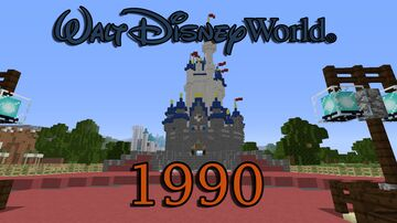 Walt Disney World - (1990) Minecraft Map & Project