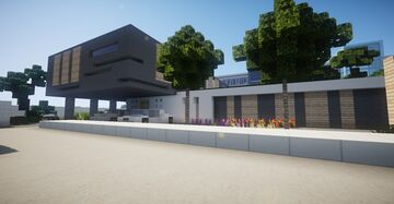 Modern House #2 Minecraft Map & Project