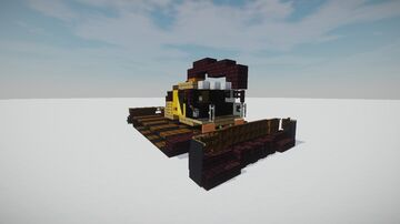 Bombardier BR 2000 Snow Groomer Minecraft Map & Project