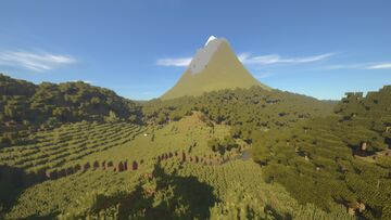 Mt. Taranaki, New Zealand v.2.0 Minecraft Map & Project