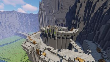 Helm's Deep from Lord of the Rings Minecraft Map & Project