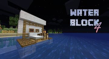 WaterBlock 4 Minecraft Map & Project