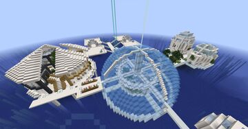 Idrotopia: The City Above Water Minecraft Map & Project