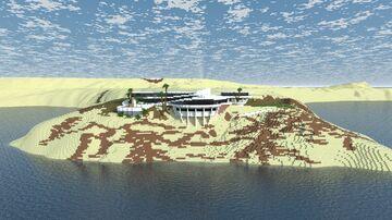 Tony Stark Mansion Minecraft Map & Project