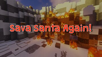 Save Santa Again! - A Christmas Adventure Map Minecraft Map & Project