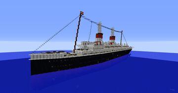 SS Erwin der Kleine (1899-1917) Minecraft Map & Project