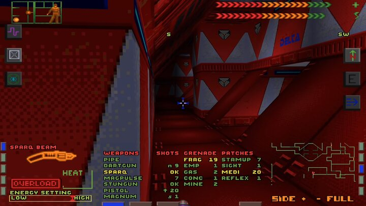 Research level in the original game