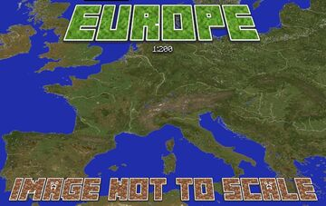 EUROPE 1:200 [DOWNLOAD LINK LOST] [1.14x] Minecraft Map & Project