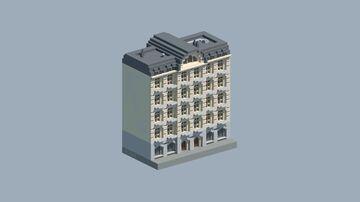 European Apartment Building 4 Minecraft Map & Project