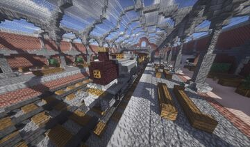 Train Station Minecraft Map & Project