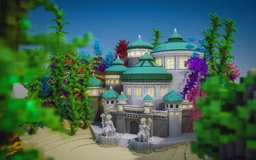 Atlantis Palace Minecraft Map & Project
