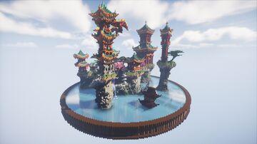 Asian / Japanese - Lobby / Hub Minecraft Map & Project