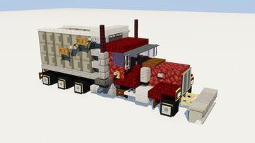 Dump Truck Snowplow Minecraft Map & Project