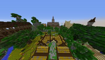 Medieval Lobby | Spawn/Hub - 08 Minecraft Map & Project