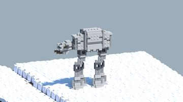 StarWars  AT-AT walker [With Download] Minecraft Map & Project