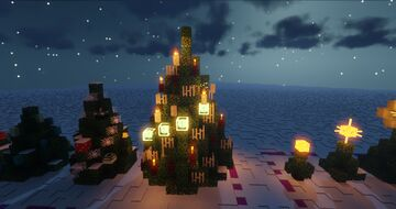 10 Easy Christmas Decoration Ideas Minecraft Map & Project