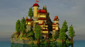 BREGBORN PALACE Minecraft Map & Project