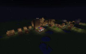 Oak Town Minecraft Map & Project