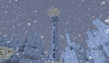 Snowflake Lantern Minecraft Map & Project