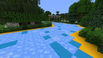 Slippery Boat Race 1.15 Minecraft Map & Project