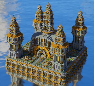 Medieval Faction Spawn/Hub Minecraft Map & Project