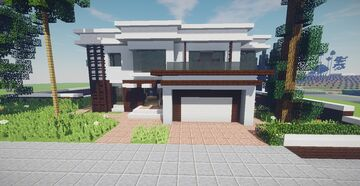 Modern House (December Projects #4) Minecraft Map & Project