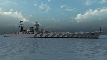 Fictional Russian Battlecruiser - Velikiy Knyaz Yaroslav - For TheOfficialNano Minecraft Map & Project