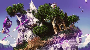 trashbag skyblock zestria spawn Minecraft Map & Project